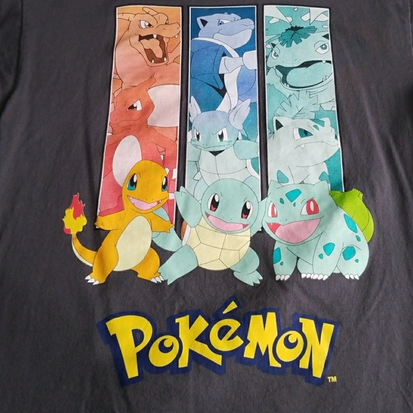 186837f3 Pokemon Shirts & Tops   T Shirt Kanto Starters   Poshmark